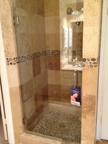 Residential Single Shower Door